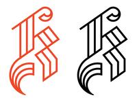 Kargov Logo - Handlettered