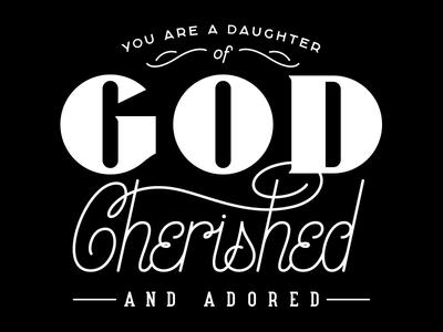 Daughter of God - Lettered