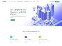 Landing page home
