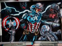 Captain America vs Ultron
