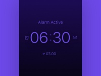 Alarm Clock App Design