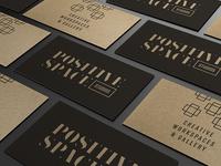 Positive Space Studios Branding