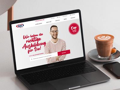 BFI Steiermark Website steiermark austria website design website webdesign bfi education booking courses e-commerce