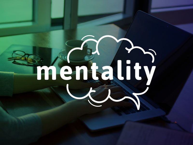 Mentality Logo psychology therapy online therapy corporate identity corporate design ci cd branding logo mentality