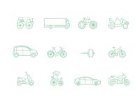 Free E-Mobility Icons