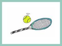 Tennis illustration