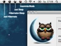 SmartSleep Menu Bar Status Icons