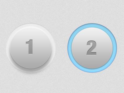 Push Da Button ui button push element knob interface