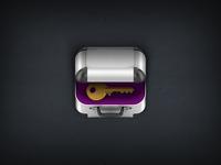 Keychain2go iphone app icon