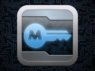 MasterKey ios icon password generator key grid circuit tech