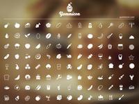 Yummicon Icon Set