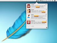 Feather.app UI