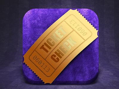 Sneak Preview app icon cinema ticket movie film velvet ios iphone