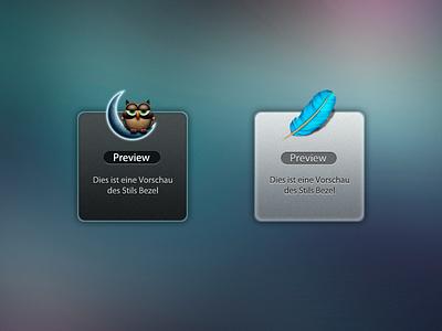 Growl Bezel 2.0 notification growl bezel redesign dark silver theme