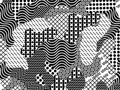 Mashed Patterns pattern shapes repeating blob