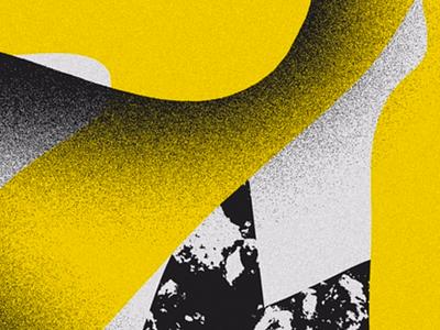 027 shape texture color poster