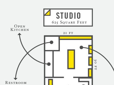 Imaginary Floor Plan typography floor plan illustration