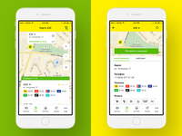 Mobile application for gas stations TopLine