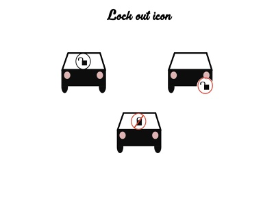 Lock out icon car unlock unlock lock out design lock out icon car car unlock icon unlock icon icon design icon lock out