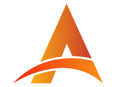 A Type Creative Logo creativity typography letter design logo design