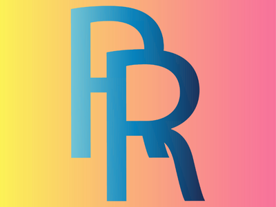 RR Logo Design logo design. typography letter design