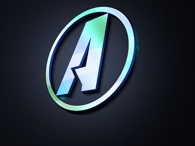 A letter design sign icon logo design letter design