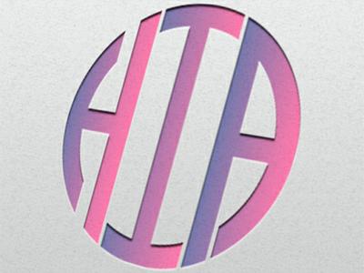 HIA creative logo design illustration vector logo icon