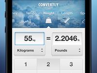 Conversion app