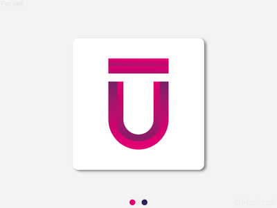 Logo Design Concept With U logos u symbol u letter u logo logotype design logo logo design logodesign