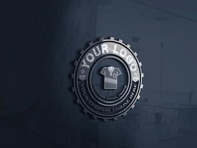 Circular Logo Design Concept With Mockup circular logo fashion brand fashion monogram logo branding smart simple logo logo 3d logo design 3d logo 3d mockup 3d modeling logotype logo design logodesign round logo circle logo