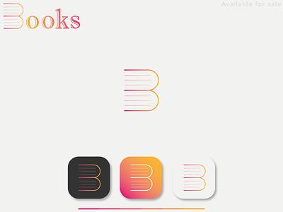 Book Logo Design Concept modern book logo modern logo minimalistic book art book texture logo notebook logo notebook books logo book logo book