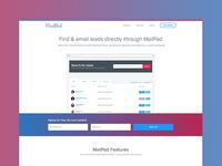 MailPad Landing Page | Version 2