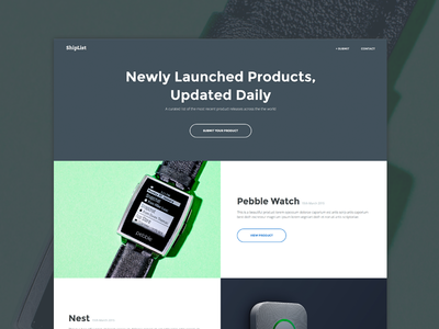 Homepage | Product Display