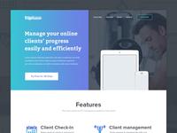 Homepage | Fitness Platform WIP
