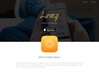 Lumy - Website