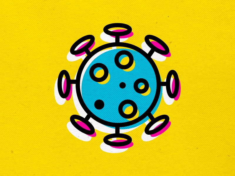 ALERT spreadthewordnotthevirus coronavirus covid19 design logo branding vector icons cmyk modern illustration inkbyteatwork