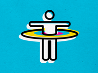 PRACTICE SOCIAL DISTANCING coronavirus logo branding vector icons design modern illustration cmyk inkbyteatwork