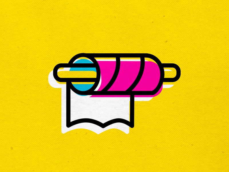 BUY ONLY THE ESSENTIALS coronavirus icons branding vector design modern cmyk illustration inkbyteatwork