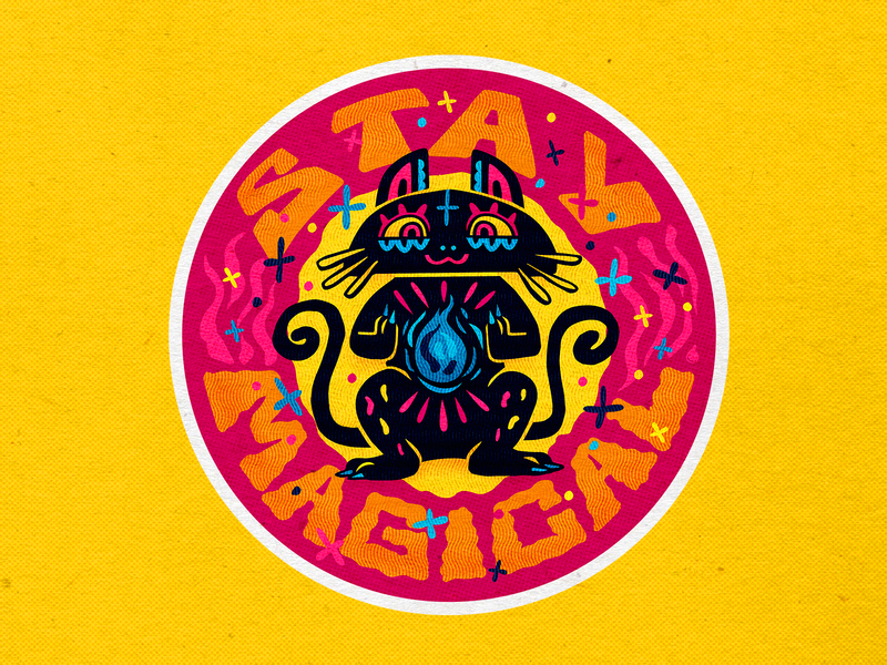Stay Magical culture mexican branding vector icons design modern illustration cmyk inkbyteatwork