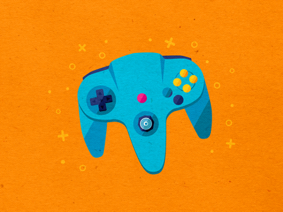 N64 Controller icon design nintendoswitch nintendo 64 nintendo switch nintendo illustration art illustrator icon iconography icons pack icons set logo branding icons vector design modern illustration cmyk inkbyteatwork