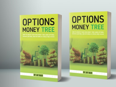 Options Money Tree  Book Cover branding kindlebookcover graphicdesign ebookcover cover childrenbookcover bookdesign bookcoverdesign uniquebookcover pdfcover