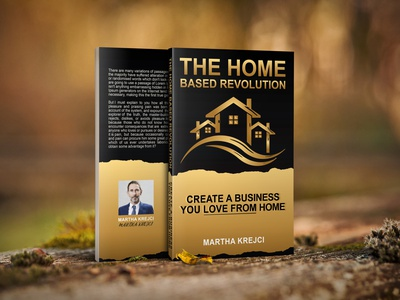 The Home based Revolution Book Cover graphicdesign bookdesign branding illustration kindlebookcover cover ebookcover bookcoverdesign uniquebookcover pdfcover