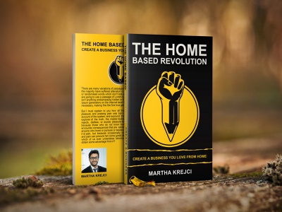 The Home based Revolution Book Cover illustration typography graphicdesign branding cover bookdesign ebookcover bookcoverdesign uniquebookcover pdfcover