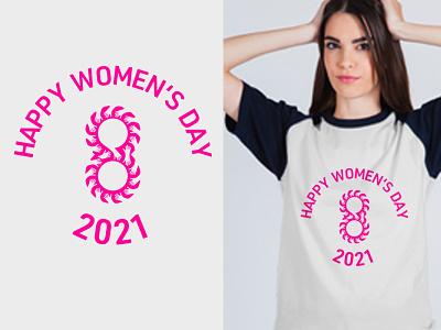 International Women's Day T-Shirt vector graphicdesign branding illustration logo eye-catching t-shirt