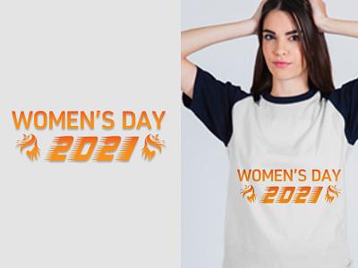 International Women's Day T-Shirt design graphicdesign branding logo illustration eye-catching t-shirt