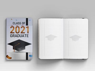Class of 2021 Graduate 2021 graduation ideas notebook graduated class