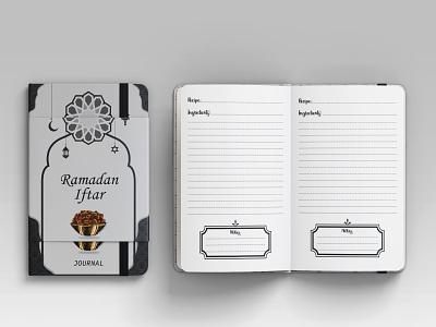 Ramadan Iftar Journal notebook ramadan mubarak
