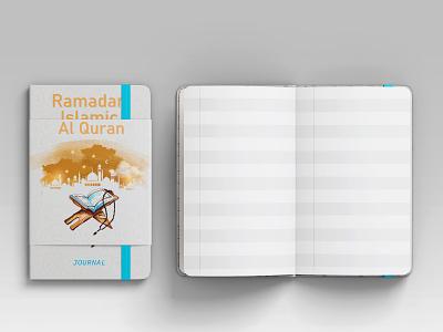 Ramadan Islamic Al Quran Journal notebook