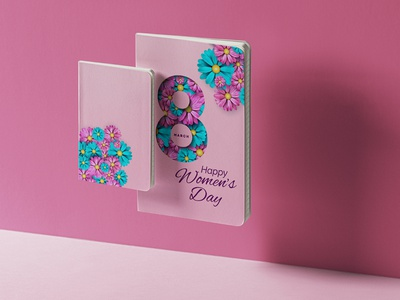 8 March Happy Women's Day branding design graphicdesign