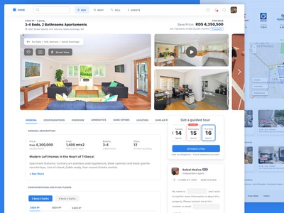 Property Details - Buying an Apartment web sell real state buy rent product page apartment house home flat airbnb advertisement